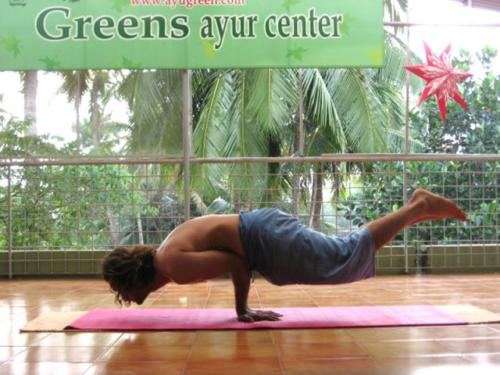 Yoga at Greens
